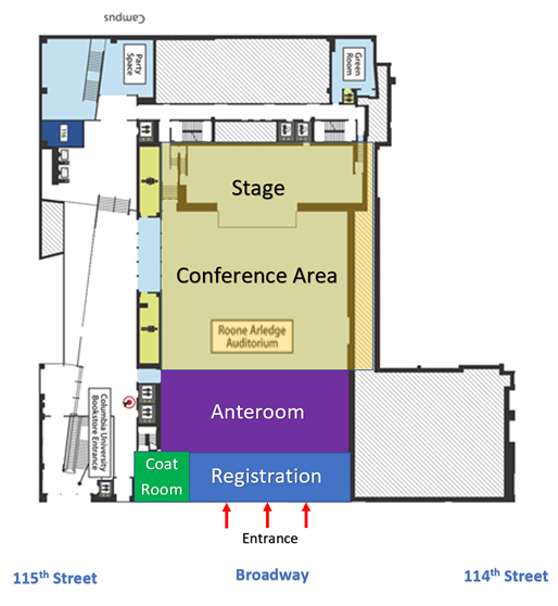 Colored Floor Plan